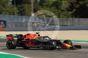 World © Octane Photographic Ltd. Formula 1 – Spanish In-season testing. Aston Martin Red Bull Racing RB15 – Daniel Ticktum. Circuit de Barcelona Catalunya, Spain. Wednesday 15th May 2019.