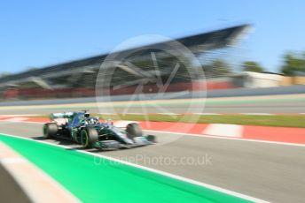 World © Octane Photographic Ltd. Formula 1 – Spanish In-season testing. Mercedes AMG Petronas Motorsport AMG F1 W10 EQ Power+ - Nikita Mazepin. Circuit de Barcelona Catalunya, Spain. Wednesday 15th May 2019.