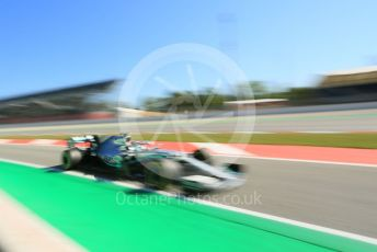 World © Octane Photographic Ltd. Formula 1 – Spanish In-season testing. Mercedes AMG Petronas Motorsport AMG F1 W10 EQ Power+ - Nikita Mazepin. Circuit de Barcelona Catalunya, Spain. Wednesday 15th May 2019.