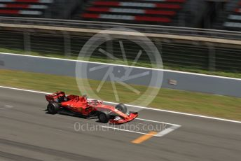 World © Octane Photographic Ltd. Formula 1 – Spanish Pirelli In-season testing. Scuderia Ferrari SF90 – Charles Leclerc. Circuit de Barcelona Catalunya, Spain. Wednesday 15th May 2019.