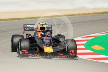 World © Octane Photographic Ltd. Formula 1 – Spanish GP. Practice 1. Aston Martin Red Bull Racing RB15 – Pierre Gasly. Circuit de Barcelona Catalunya, Spain. Friday 10th May 2019.
