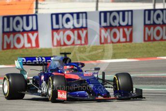 World © Octane Photographic Ltd. Formula 1 – Spanish GP. Practice 1. Scuderia Toro Rosso STR14 – Daniil Kvyat. Circuit de Barcelona Catalunya, Spain. Friday 10th May 2019.