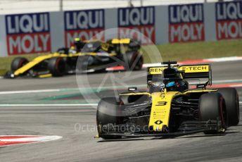 World © Octane Photographic Ltd. Formula 1 – Spanish GP. Practice 1. Renault Sport F1 Team RS19 – Daniel Ricciardo. Circuit de Barcelona Catalunya, Spain. Friday 10th May 2019.