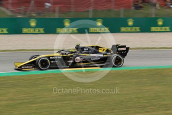 World © Octane Photographic Ltd. Formula 1 – Spanish GP. Practice 2. Renault Sport F1 Team RS19 – Nico Hulkenberg. Circuit de Barcelona Catalunya, Spain. Friday 10th May 2019.