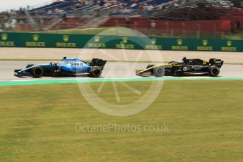 World © Octane Photographic Ltd. Formula 1 – Spanish GP. Practice 2. ROKiT Williams Racing – George Russell. Circuit de Barcelona Catalunya, Spain. Friday 10th May 2019.