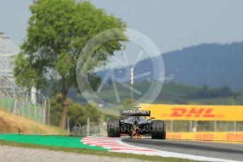 World © Octane Photographic Ltd. Formula 1 – Spanish GP. Practice 2. Rich Energy Haas F1 Team VF19 – Kevin Magnussen. Circuit de Barcelona Catalunya, Spain. Friday 10th May 2019.
