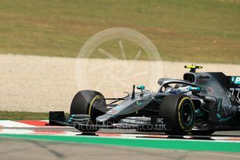 World © Octane Photographic Ltd. Formula 1 – Spanish GP. Practice 2. Mercedes AMG Petronas Motorsport AMG F1 W10 EQ Power+ - Valtteri Bottas. Circuit de Barcelona Catalunya, Spain. Friday 10th May 2019.