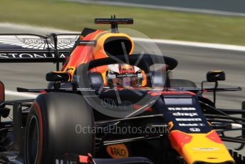 World © Octane Photographic Ltd. Formula 1 – Spanish GP. Race. Aston Martin Red Bull Racing RB15 – Max Verstappen. Circuit de Barcelona Catalunya, Spain. Sunday 12th May 2019.