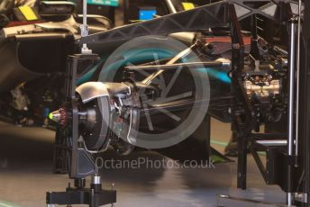 World © Octane Photographic Ltd. Formula 1 – Spanish GP. Thursday Setup. Mercedes AMG Petronas Motorsport AMG F1 W10 EQ Power+. Circuit de Barcelona Catalunya, Spain. Thursday 9th May 2019