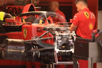 World © Octane Photographic Ltd. Formula 1 – Spanish GP. Thursday Setup. Scuderia Ferrari SF90 . Circuit de Barcelona Catalunya, Spain. Thursday 9th May 2019.