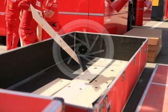 World © Octane Photographic Ltd. Formula 1 – Spanish GP. Thursday Setup. Scuderia Ferrari SF90. Circuit de Barcelona Catalunya, Spain. Thursday 9th May 2019.