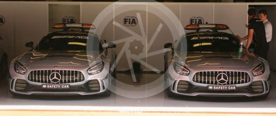 World © Octane Photographic Ltd. Formula 1 – Spanish GP. Thursday Setup. FIA Garage. Circuit de Barcelona Catalunya, Spain. Thursday 9th May 2019.