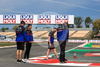 World © Octane Photographic Ltd. Formula 1 – Spanish GP. Thursday Track walk. Scuderia Toro Rosso STR14 – Alexander Albon. Circuit de Barcelona Catalunya, Spain. Thursday 9th May 2019.