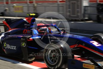 World © Octane Photographic Ltd. FIA Formula 2 (F2) – Spanish GP - Practice. Carlin - Nobuharu Matsushita. Circuit de Barcelona-Catalunya, Spain. Friday 10th May 2019.
