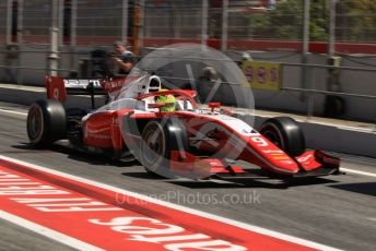 World © Octane Photographic Ltd. FIA Formula 2 (F2) – Spanish GP - Practice. Prema Racing – Mick Schumacher. Circuit de Barcelona-Catalunya, Spain. Friday 10th May 2019.