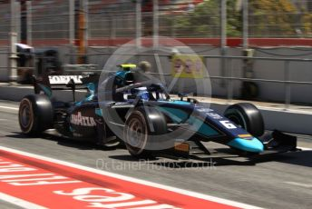 World © Octane Photographic Ltd. FIA Formula 2 (F2) – Spanish GP - Practice. DAMS - Nicholas Latifi. Circuit de Barcelona-Catalunya, Spain. Friday 10th May 2019.