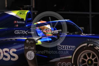 World © Octane Photographic Ltd. FIA Formula 2 (F2) – Spanish GP - Practice. Carlin - Louis Deletraz. Circuit de Barcelona-Catalunya, Spain. Friday 10th May 2019