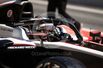 World © Octane Photographic Ltd. FIA Formula 2 (F2) – Spanish GP - Practice. ART Grand Prix - Nyck de Vries. Circuit de Barcelona-Catalunya, Spain. Friday 10th May 2019.