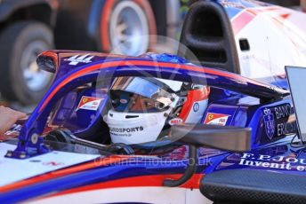 World © Octane Photographic Ltd. FIA Formula 2 (F2) – Spanish GP - Qualifying. Trident - Giuliano Alesi. Circuit de Barcelona-Catalunya, Spain. Friday 10th May 2019.