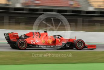 World © Octane Photographic Ltd. Formula 1 – Spanish GP. Practice 3. Scuderia Ferrari SF90 – Sebastian Vettel. Circuit de Barcelona Catalunya, Spain. Saturday 11th May 2019.