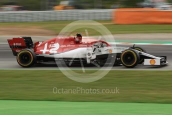 World © Octane Photographic Ltd. Formula 1 – Spanish GP. Practice 3. Alfa Romeo Racing C38 – Kimi Raikkonen. Circuit de Barcelona Catalunya, Spain. Saturday 11th May 2019.