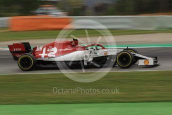 World © Octane Photographic Ltd. Formula 1 – Spanish GP. Practice 3. Alfa Romeo Racing C38 – Antonio Giovinazzi. Circuit de Barcelona Catalunya, Spain. Saturday 11th May 2019.