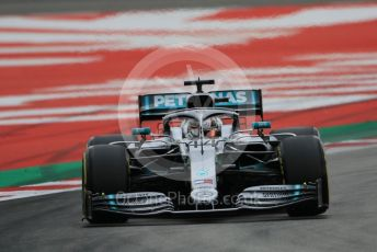 World © Octane Photographic Ltd. Formula 1 – Spanish GP. Practice 3. Mercedes AMG Petronas Motorsport AMG F1 W10 EQ Power+ - Lewis Hamilton. Circuit de Barcelona Catalunya, Spain. Saturday 11thth May 2019.