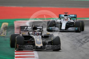 World © Octane Photographic Ltd. Formula 1 – Spanish GP. Practice 3. Rich Energy Haas F1 Team VF19 – Romain Grosjean. Circuit de Barcelona Catalunya, Spain. Saturday 11th May 2019.
