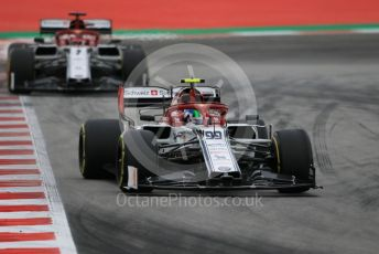 World © Octane Photographic Ltd. Formula 1 – Spanish GP. Practice 3. Alfa Romeo Racing C38 – Antonio Giovinazzi. Circuit de Barcelona Catalunya, Spain. Saturday 11th May 2019.