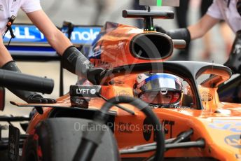World © Octane Photographic Ltd. Formula 1 – Spanish GP. Practice 3. McLaren MCL34 – Carlos Sainz. Circuit de Barcelona Catalunya, Spain. Saturday 11th May 2019.