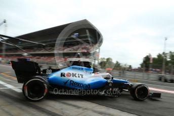 World © Octane Photographic Ltd. Formula 1 – Spanish GP. Practice 3. ROKiT Williams Racing – Robert Kubica. Circuit de Barcelona Catalunya, Spain. Saturday 11thth May 2019.