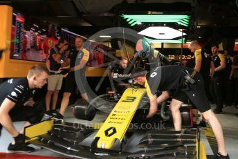 World © Octane Photographic Ltd. Formula 1 – Spanish GP. Practice 3. Renault Sport F1 Team RS19 – Daniel Ricciardo. Circuit de Barcelona Catalunya, Spain. Saturday 11th May 2019.