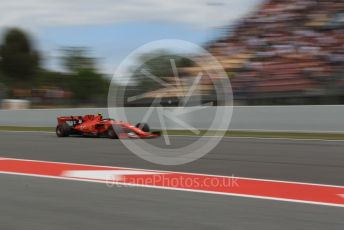 World © Octane Photographic Ltd. Formula 1 – Spanish GP. Qualifying. Scuderia Ferrari SF90 – Charles Leclerc. Circuit de Barcelona Catalunya, Spain. Saturday 11th May 2019.