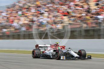 World © Octane Photographic Ltd. Formula 1 – Spanish GP. Qualifying. Alfa Romeo Racing C38 – Antonio Giovinazzi. Circuit de Barcelona Catalunya, Spain. Saturday 11th May 2019.