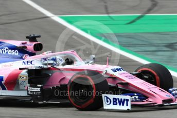 World © Octane Photographic Ltd. Formula 1 – Spanish GP. Qualifying. SportPesa Racing Point - Sergio Perez. Circuit de Barcelona Catalunya, Spain. Saturday 11th May 2019.