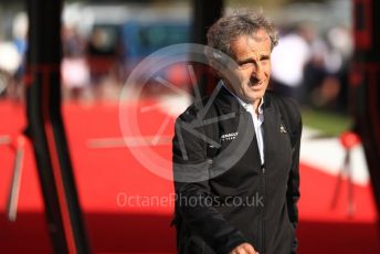 World © Octane Photographic Ltd. Formula 1 - Spanish GP.Friday Paddock. Alain Prost – Special Advisor to Renault Sport Formula 1 Team. Circuit de Barcelona Catalunya, Spain.  Friday 10th May 2019.