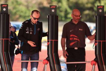 World © Octane Photographic Ltd. Formula 1 – Spanish GP. Friday Paddock. ROKiT Williams Racing – Robert Kubica. Circuit de Barcelona Catalunya, Spain. Friday 10th May 2019.
