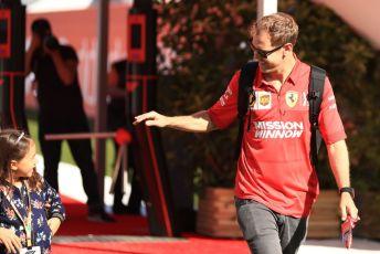 World © Octane Photographic Ltd. Formula 1 – Spanish GP. Friday Paddock. Scuderia Ferrari SF90 – Sebastian Vettel. Circuit de Barcelona Catalunya, Spain. Friday 10th May 2019.