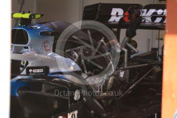 World © Octane Photographic Ltd. Formula 1 – Spanish GP. Paddock. ROKiT Williams Racing. Circuit de Barcelona Catalunya, Spain. Saturday 11thth May 2019.