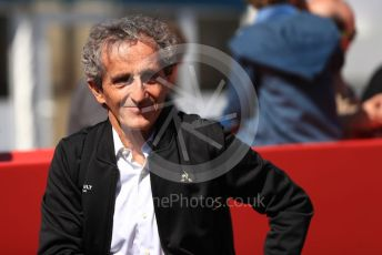 World © Octane Photographic Ltd. Formula 1 - Spanish GP. Paddock. Alain Prost – Special Advisor to Renault Sport Formula 1 Team. Circuit de Barcelona Catalunya, Spain. Sunday 12th May 2019.