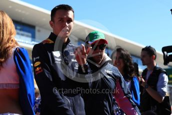 World © Octane Photographic Ltd. Formula 1 – United States GP - Drivers' Parade. Aston Martin Red Bull Racing RB15 – Alexander Albon. Circuit of the Americas (COTA), Austin, Texas, USA. Sunday 3rd November 2019.