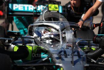 World © Octane Photographic Ltd. Formula 1 – United States GP – Grid Mercedes AMG Petronas Motorsport AMG F1 W10 EQ Power+ - Lewis Hamilton. Circuit of the Americas (COTA), Austin, Texas, USA. Sunday 3rd November 2019.