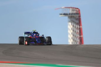 World © Octane Photographic Ltd. Formula 1 – United States GP - Practice 1. Scuderia Toro Rosso STR14 – Pierre Gasly. Circuit of the Americas (COTA), Austin, Texas, USA. Friday 1st November 2019.