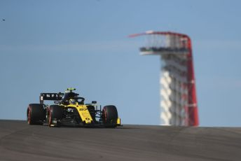 World © Octane Photographic Ltd. Formula 1 – United States GP - Practice 1. Renault Sport F1 Team RS19 – Nico Hulkenberg. Circuit of the Americas (COTA), Austin, Texas, USA. Friday 1st November 2019.