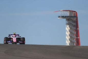 World © Octane Photographic Ltd. Formula 1 – United States GP - Practice 1. SportPesa Racing Point RP19 – Lance Stroll. Circuit of the Americas (COTA), Austin, Texas, USA. Friday 1st November 2019.