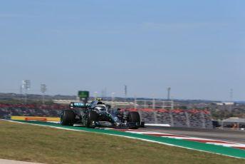 World © Octane Photographic Ltd. Formula 1 – United States GP - Practice 1. Mercedes AMG Petronas Motorsport AMG F1 W10 EQ Power+ - Valtteri Bottas. Circuit of the Americas (COTA), Austin, Texas, USA. Friday 1st November 2019.