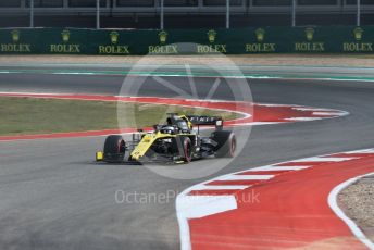 World © Octane Photographic Ltd. Formula 1 – United States GP - Practice 2. Renault Sport F1 Team RS19 – Daniel Ricciardo. Circuit of the Americas (COTA), Austin, Texas, USA. Friday 1st November 2019.