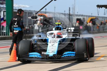 World © Octane Photographic Ltd. Formula 1 – United States GP - Practice 3. ROKiT Williams Racing FW42 – Robert Kubica. Circuit of the Americas (COTA), Austin, Texas, USA. Saturday 2nd November 2019.