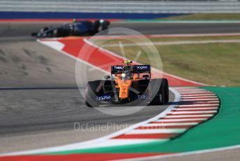 World © Octane Photographic Ltd. Formula 1 – United States GP - Quailfying. McLaren MCL34 – Lando Norris. Circuit of the Americas (COTA), Austin, Texas, USA. Saturday 2nd November 2019.