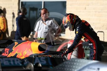 World © Octane Photographic Ltd. Formula 1 – United States GP - Qualifying. Aston Martin Red Bull Racing RB15 – Alexander Albon. Circuit of the Americas (COTA), Austin, Texas, USA. Saturday 2nd November 2019.